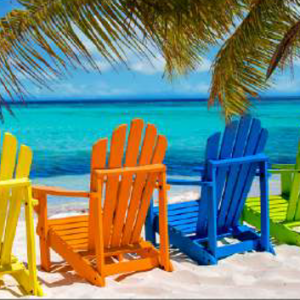 Tropical Beach Towel BK-101527 - 30 x 60