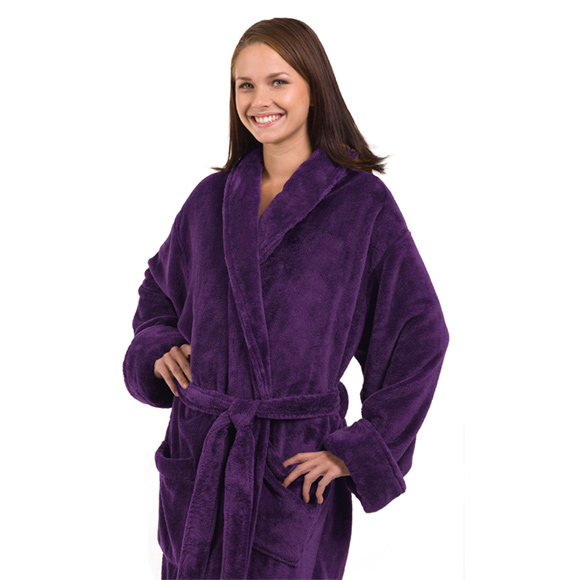 Tahoe Fleece Shawl Collar Robe - RP2007