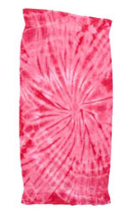 Tye Die Beach Towels - Spider Design-8 Colors to Choose