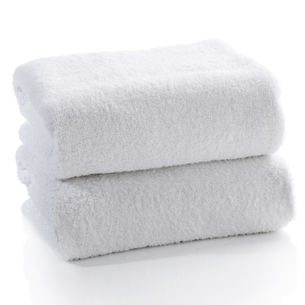 White Beach Towels - 4 Sizes & Weights