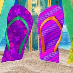 Tropical Beach Towel BK-105070 - 30 x 60