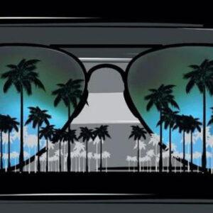 Tropical Beach Towel BK-105096 - 30 x 60