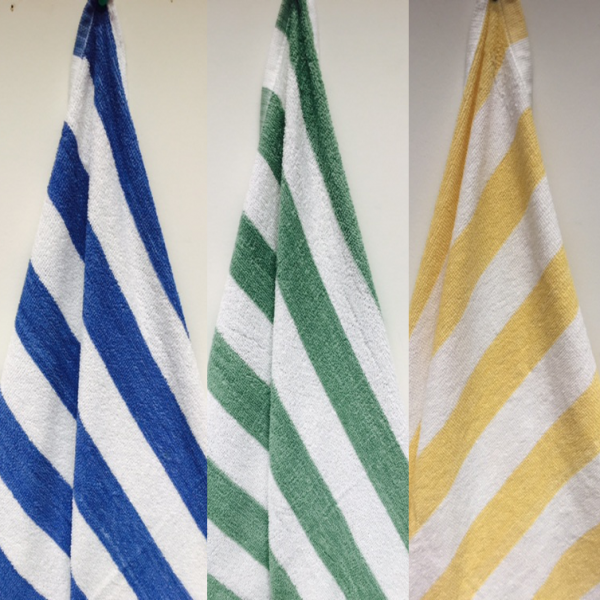 Oxford Deluxe Cabana Stripe - 3 Colors - 2 Sizes