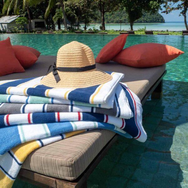 Aston and Arden Cabana Beach Towel