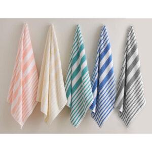 Beach Towels Galore Tropical_Stripe_5_Colors